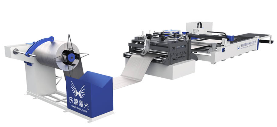 coil fed laser cutting machine 3